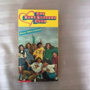 Vintage Baby-Sitters Club VHS: Stacy Takes A Stand